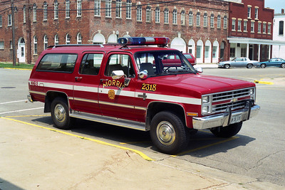 MORRIS FPD  CAR 2318 SCHEVY SUBURBAN