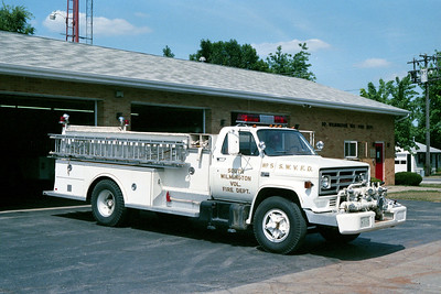 SOUTH WILMINGTON FPD  ENGINE 3315  1976 CHEVY C65 - WELCH   750-1000   #515