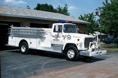 SOUTH WILMINGTON FPD  ENGINE 3314  1972  FORD L800 - DARLEY   750-1500