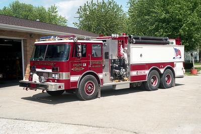 SOUTH WILMINGTON FPD  TANKER 3312  1984  PIERCE DASH   1250-2500-60F   E-2058