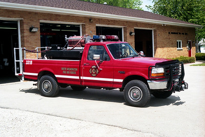 SOUTH WILMINGTON FPD  BRUSH 3318  1994 -2000  FORD F350 4z4 - FD BUILT   100-300