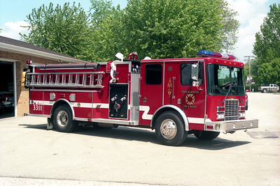 SOUTH WILMINGTON FPD  ENGINE 3311  1996  HME 1871 - ALEXIS   1250-1000   #1590   OFFICERS SIDE