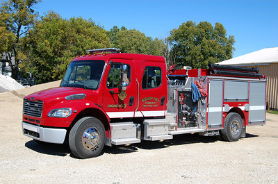 BISHOP HILL FPD  ENGINE 3  2012 FL - PIERCE 1250-1000  11792981   BILL FRICKER PHOTO