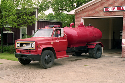 BISHOP HILL FPD  TANKER CHEVY