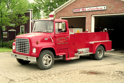 BISHOP HILL FPD  TANKER  FORD L