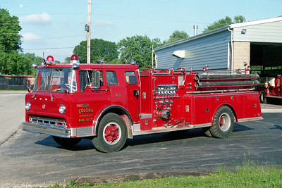 COLONA COMMUNITY FPD  ENGINE 3  1973  FORD C - ALEXIS   1000-750