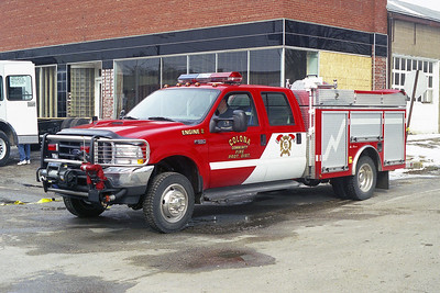 COLONA COMMUNITY FPD  ENGINE 2  FORD F550 4X4 - ALEXIS