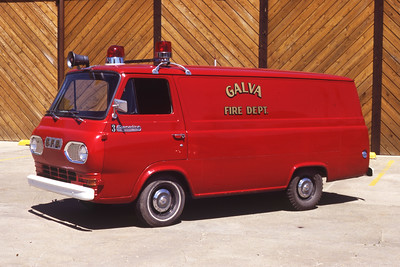 GALVA RESCUE 3  FORD VAN   RON HEAL PHOTO