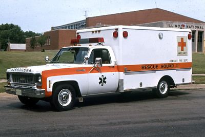 KEWANEE  RESCUE 1  1974 CHEVY HORTON   RON HEAL PHOTO