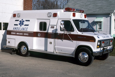 KEWANEE AMBULANCE SERVICE   RON HEAL PHOTO