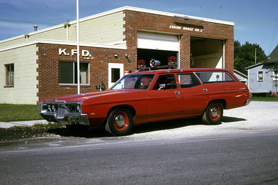 KEWANEE  CHIEFS CAR  1972 FORD