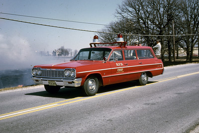 KEWANEE  CHIEFS CAR  1965 CHEVY