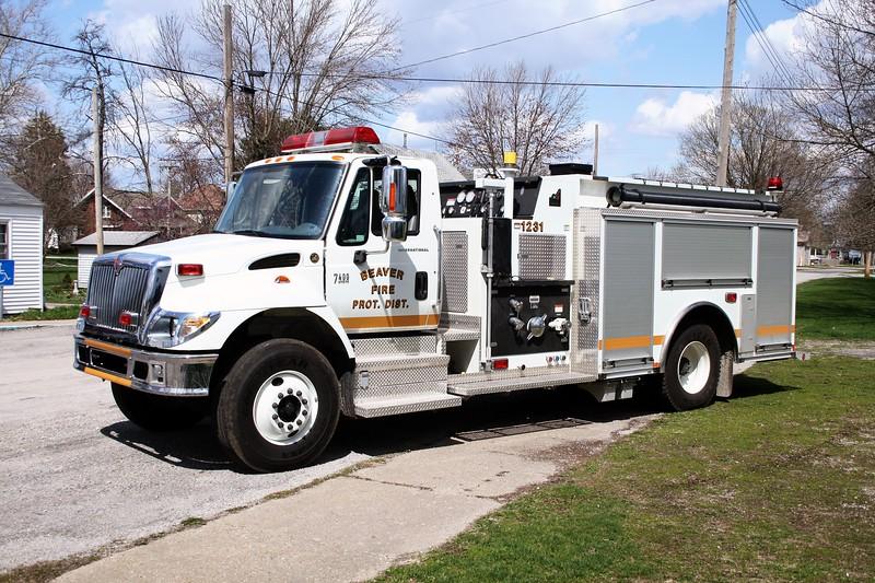 BEAVER FPD ENGINE 1231  2006  IHC 7400 - SMEAL   1250-1000   #3229