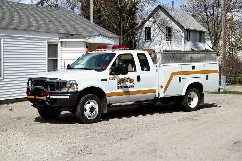 BEAVER FPD  RESCUE 1261  2006 FORD F-550 4X4 -STAHL   500-300