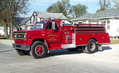 BEAVERVILLE  ENGINE 14  CHEVY C70 - ALEXIS