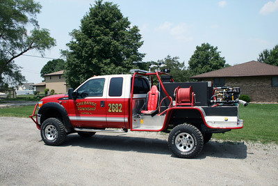 CHEBANSE TOWNSHIP FPD BRUSH 2682  SIDE SHOT