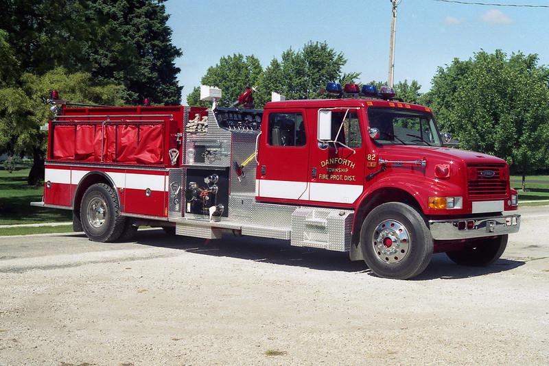 DANFORTH FPD ENGINE 82  OFFICERS SIDE  E-9517