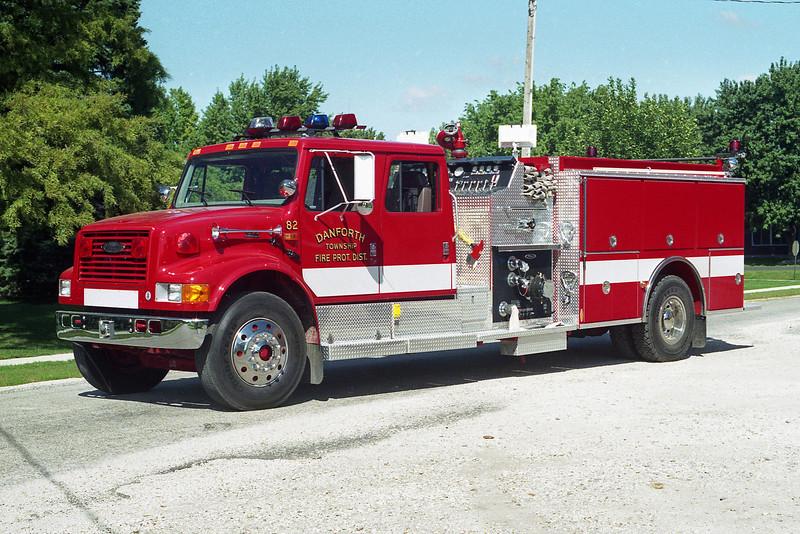 DANFORTH FPD  ENGINE 82  1996 IHC 4900-PIERCE  1250-1000  E-9517