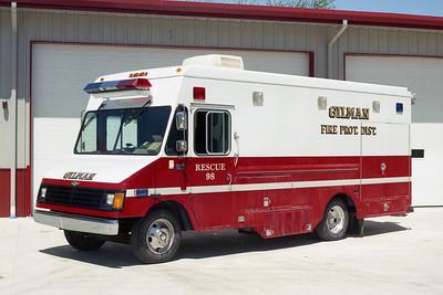 GILMAN  RESCUE 98  2004