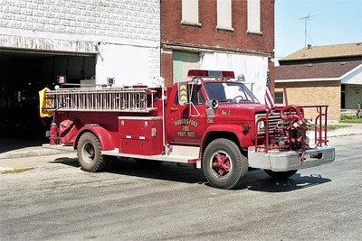 IROQUOIS-FORD FPD  ENGINE 2031  1978  CHEVY C65 - ALEXIS  750-750   #1182