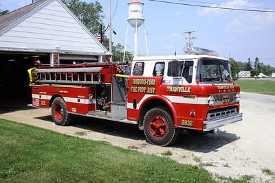 IROQUOIS-FORD  FPD  ENGINE 2032  1973  FORD C - DARLEY   1000-750   X- KEMPTON FPD