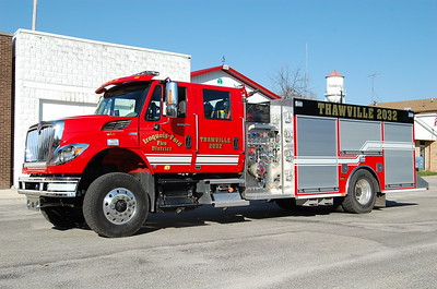 IROQUOIS-FORD FPD  ENGINE 2032  2012 IHC - ROCKET FIRE  1250-1800-20  BILL FRICKER PHOTO