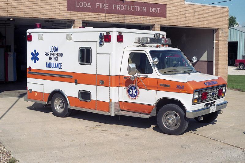 LODA FPD AMB 3-Q-60  1983 FORD