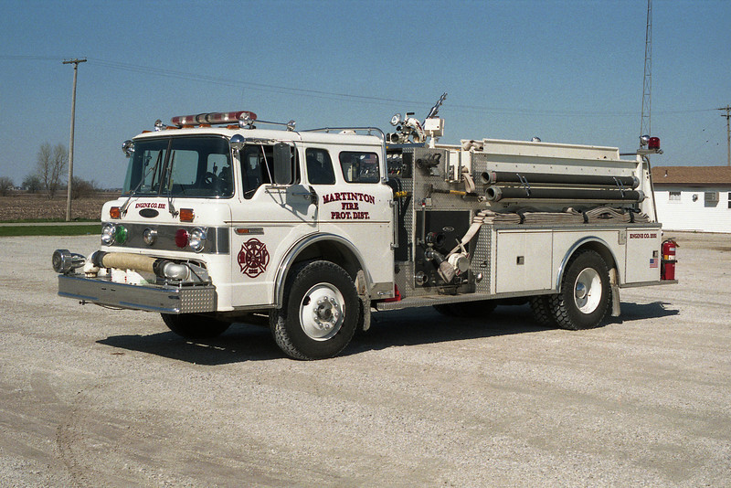 MARTINTON FPD  ENGINE  FORD C-PIERCE
