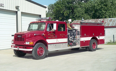 MILFORD  ENGINE 2  IHC 4900 - PIERCE