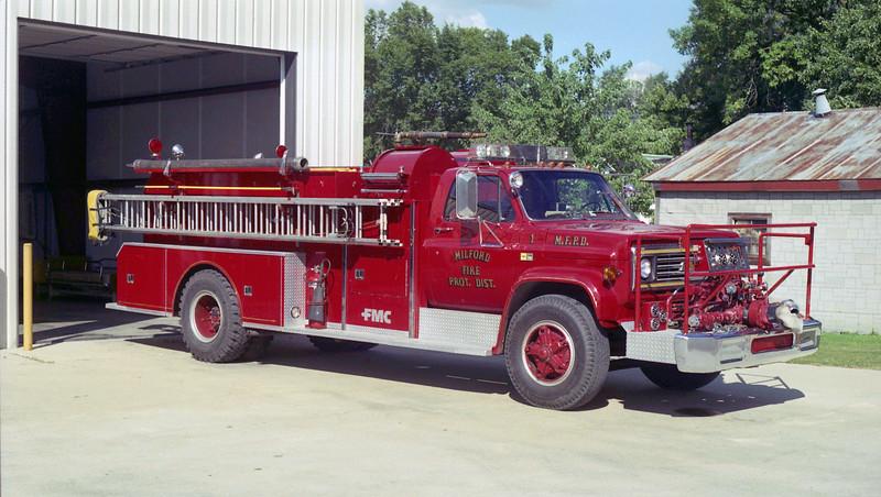 MILFORD  ENGINE 1  CHEVY - FMC