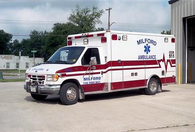 MILFORD  RESCUE 3Q15  DORD E450 - WHEELED COACH