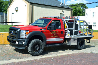 ONARGA BRUSH 2585  2015 FORD F - ROCKET FIRE  125-300    BILL FRICKER PHOTO