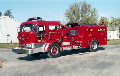 PAPINEAU  ENGINE 111  MACK C95   X-MANTENO STATE HOSPITAL