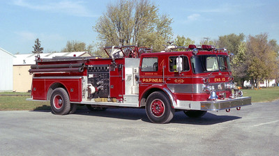 PAPINEAU  ENGINE 115  X-LYONS ENGINE