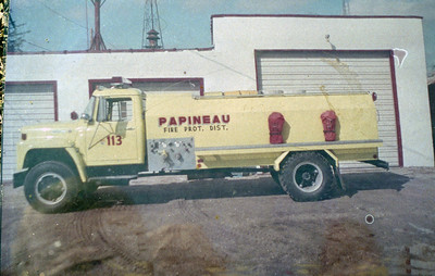 PAPINEAU  TANKER 113  LIME GREEN