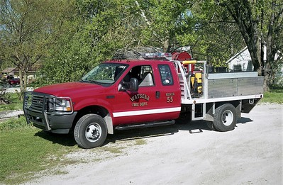 WATSEKA FD  RESCUE 2981  2002  FORD F350 4X4 - QUAD COUNTY   125-250