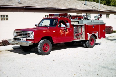 WATSEKA FD  ENGINE 55  1975  DODGE 4X4 - E-ONE   250-250   #3716