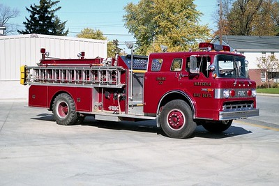 WATSEKA FD  ENGINE 33  1981 FORD C - FMC   1000-1000
