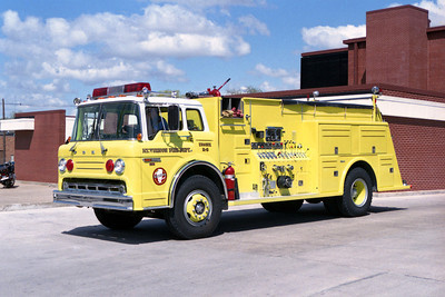 MT VERNON FD  ENGINE M-5  FORD C - TOWERS