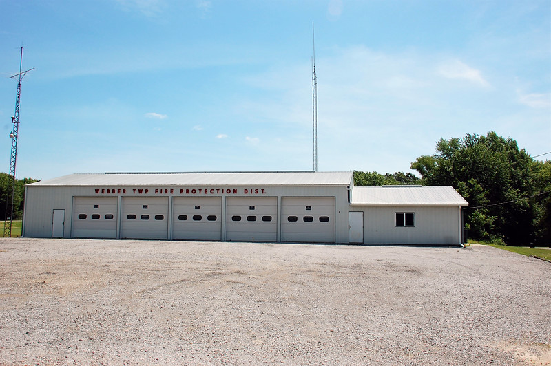 WEBER TOWNSHIP FPD STATION - BLUEFORD IL   DAVID HORNACEK PHOTO