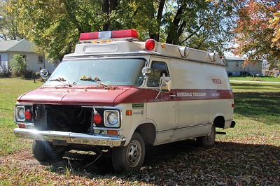 ROSEDALE TOWNSHIP FPD  RESCUE 1  CHEVY CHEVYVAN 30 -  SUPERIOR      DAVID HORNACEK PHOTO
