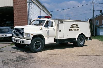 HANOVER COMMUNITY FPD TANKER 602