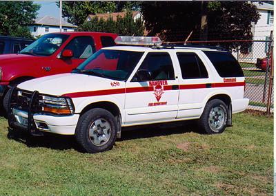 HANOVER FPD CAR 650