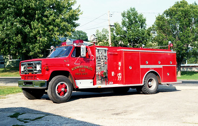 MENOMINEE  ENGINE 3   1984 GMC - ALEXIS  750-1250
