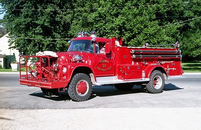 AROMA FPD  ENGINE 52   1965 IHC LOADSTAR 1700 - ALEXIS  500-600