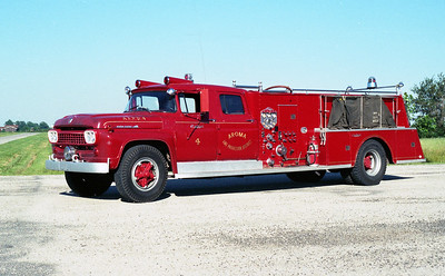 AROMA FPD  ENGINE 54   1958 FORD F800 - CENTRAL ST LOUIS   750-1000