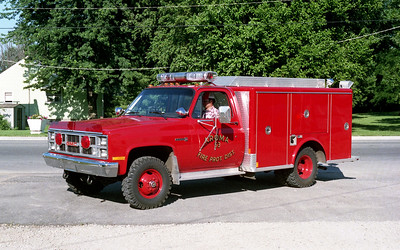 AROMA FPD  RESCUE 53   1984  GMC 4X4 - MARION