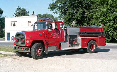 AROMA FPD  ENGINE 59  1981 FORD L8000 - PIERCE   1000-750   E-1310