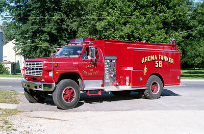 AROMA FPD  TANKER 59  1983 FORD F800 - WOLVERINE  500-1500