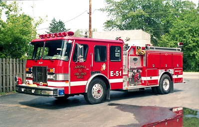 AROMA FPD  ENGINE 51  1992 E-ONE PROTECTOR  1500-750